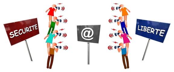 """Débat  """"Internet: sécurité vs liberté"""""""