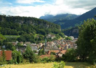 Feldkirch, Vorarlberg in Austria
