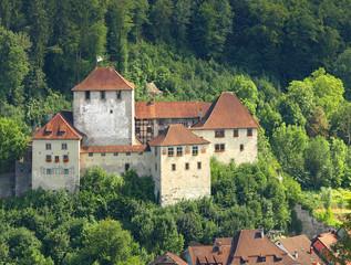 Castle in Feldkirch, Vorarlberg in Austria