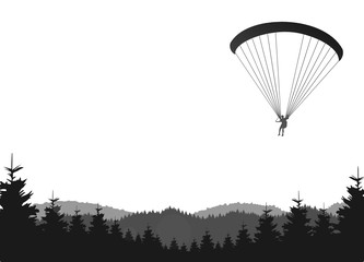 Paraglider Landschaft