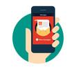 Sticker - Mobile Message App Concept