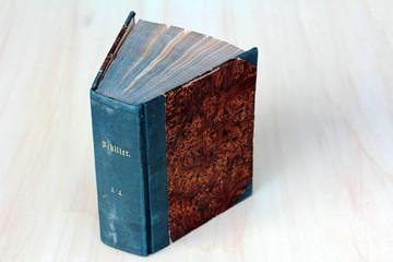 Das alte Buch von Schiller 1853