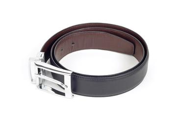 bilateral leather belt