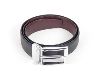 bilateral leather belt