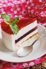 piece of celebratory cake
