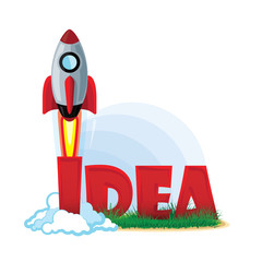Idea vector illustration. Smart idea