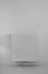 radiator on wall