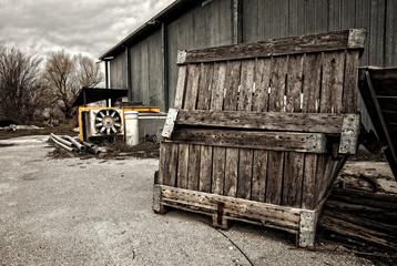 azienda agricola abbandonata