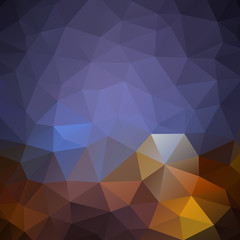 Low poly background, abstract template