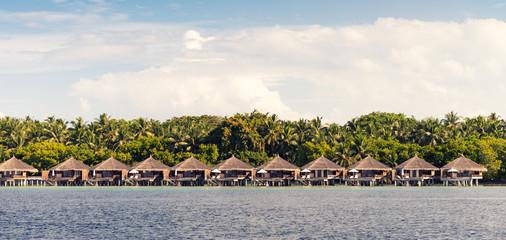 Water Villas in Maldivian Resort