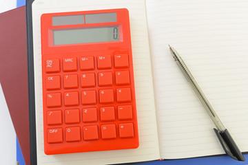 計算機と筆記用具