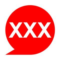 Icono texto XXX