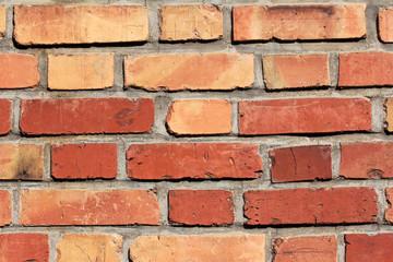 Die rote Steinwand