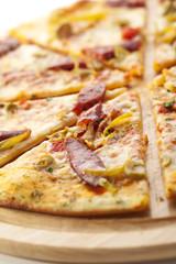 Sausages Pizza
