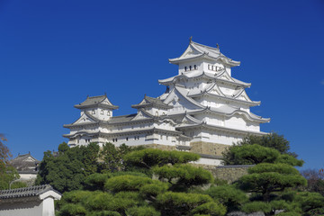 The UNESCO world heritage site: Himeji Castle, Japan.