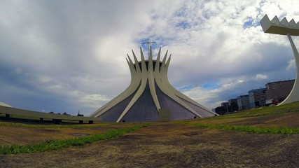 View of Cathedral of Brasilia, Brazil