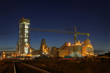 Concrete Plant Dawn