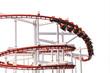 Roller Coasters loops - 80430756
