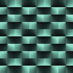 Green geometric texture