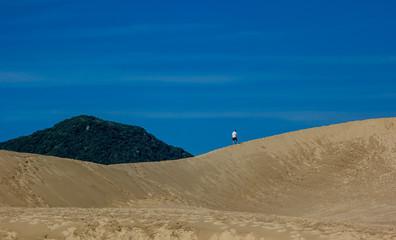 Caminhando na duna