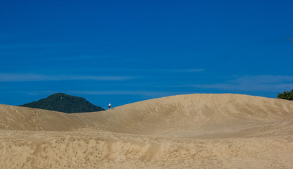 Subindo na duna