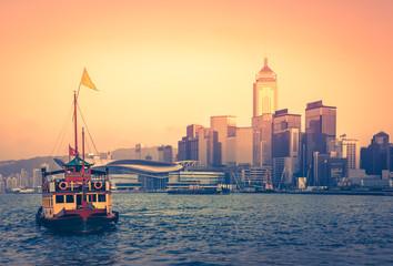 Travelling Hong Kong by junk boat