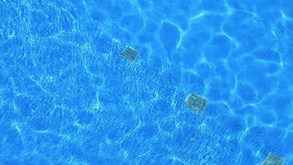 Pool Filters With Transparent Water