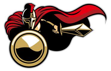 spartan army mascot