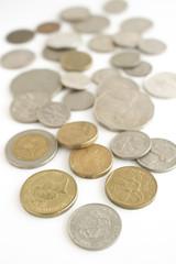 世界各国のコイン