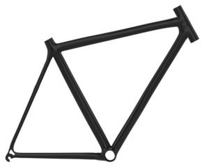 Carbon fber bike frame