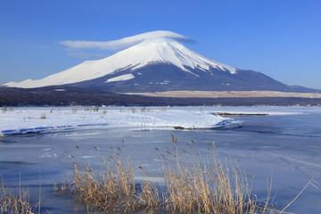 富士と笠雲