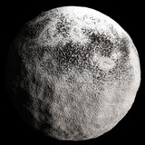 Snow Asteroid