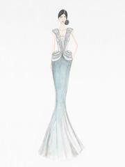 beautiful stylish cocktail dress
