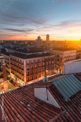 Aluminium Madrid Madrid rooftops