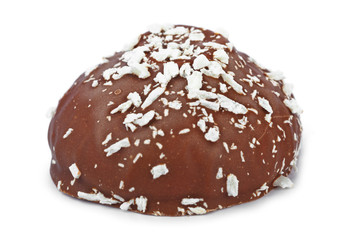 Marshmallows in chocolate