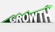 Growth Text And Arrow - 80436749