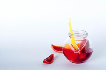 fresh Sicilian orange juice