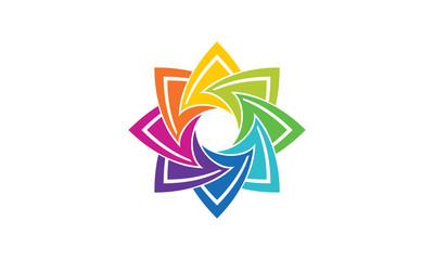 Circular Abstract Logo