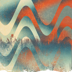 Retro Grunge Texture and Background, Abstract