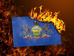 Flag burning - Pennsylvania