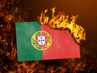 Flag burning - Portugal