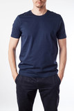 Fototapety Dark blue t-shirt template ready for your graphic design.