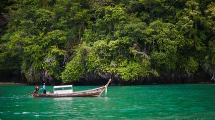Beautiful sea in Krabi province, Thailand.