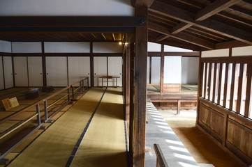 Innenraum - traditionelles japanisches Haus