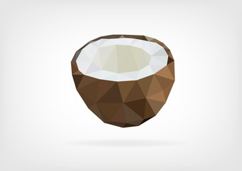 Low Poly Coconut