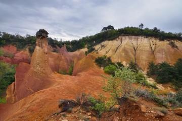 Colorado Provençal, Rustrel, Provence, France