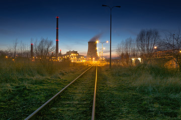 Power Plant - Industrial view