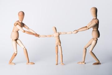 Streit, Scheidung, Sorgerecht