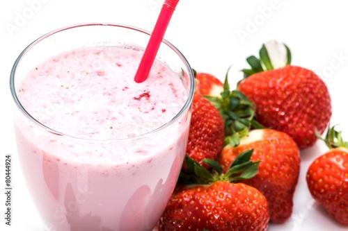 Milkshake fraise - 80444924