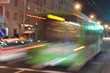 Motion blurred bus - 80446370